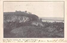 DOUG HILL NEAR LOUISIANA MISSOURI AUXILIARY MARKING DOREMUS CANCEL POSTCARD 1907