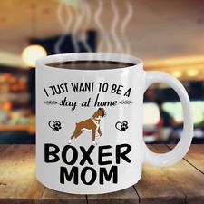 BOXER DOG MOM COFFEE MUG, BOXER DOG GIFTS,  BOXER DOG ACCESSORIES, BOXER DOG MUG