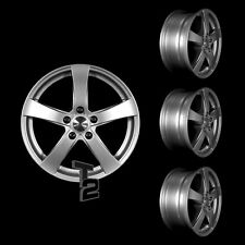 4x 15 Zoll Alufelgen für VW Caddy, Maxi / Dezent RE 6x15 ET48 (B-3400650)