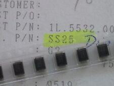 10 x ss25 Schottky Diodo