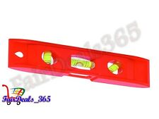 HEAVY DUTY 3 VIALS MAGNETIC TORPEDO LEVEL 23CM, MAGNETIC BASE WITH PLASTIC BODY