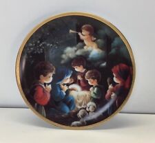 Come Let Us Adore Him Precious Moments Bible Story Plate 1991