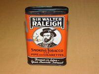 VINTAGE SIR WALTER RALEIGH PIPE & CIGARETTES SMOKING TOBACCO TIN **EMPTY*