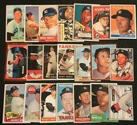 MICKEY MANTLE New York Yankees  21 Card REPRINT Base Set 1951-1969