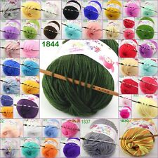 Sale new 1ball x 50g Baby Cashmere Silk Wool Children hand knitting Crochet Yarn