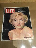 LIFE MAGAZINE August 7, 1964 ~ Marilyn Monroe Good Condition