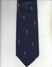 Church's-Authentic-[Golf Theme]100% Silk Tie -Made In Italy-Ch3- Men's Tie