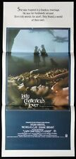 LADY CHATTERLY'S LOVER Original Daybill Movie poster SYLIVA  KRISTEL