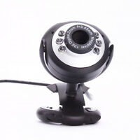 HD 50.0M USB 2.0 Webcam Camera 6 LED Web Cam with MIC for Computer PC Laptop NEW