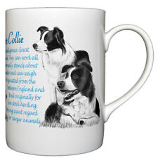 Border Collie - Fine bone china mug - Dog Origins Breed Origins