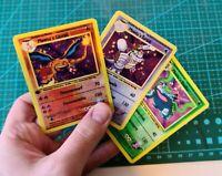 Holo Mewtus Kampfteam 3 Stk. Custom Pokemon Karten Glurak Turtok Bisaflor