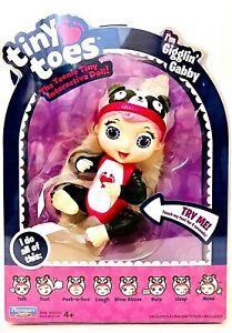 1 Ct Playmates Toys Tiny Toes I'm Gigglin Gabby The Teenie Tiny Interactive Doll