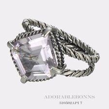 Authentic Lori Bonn Silver Pretty as a Picture Lotus Ring Size 9  310502API