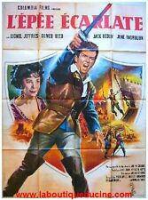 EPEE ECARLATE / SCARLET BLADE Movie Poster / Affiche Cinéma 1964 LIONEL JEFFRIES