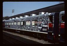 Original Slide Mexico FXE Ferromex Tequila Express Coach 6041 In 1998