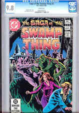Saga of Swamp Thing #5  CGC 9.8 W 1982 with Dazzling Cover Art: Price Drop!