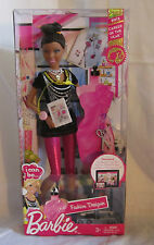 Barbie I Can Be.. FASHION DESIGNER Doll 2012 Career of the Year African American