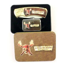 Pirate Collector Pocket Knife and Lighter Set