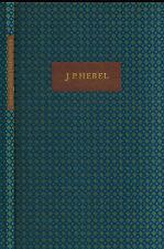 Johann Peter Hebel, Sieben Erzählungen a Rheinland Hausfreund, Hahnemühle Dassel