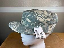 US Army ACU Patrol Cap Hat Digital Camouflage Sekri Size 7 3/4 New W/Tags
