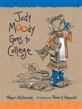 JUDY MOODY GOES TO COLLEGE BOOK 8 By Mcdonald Megan - BRAND NEW! RARE