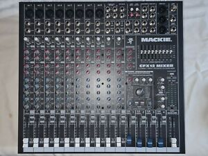 Mackie CFX 12 Mixer desk with Effects.