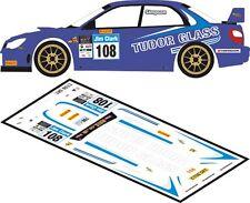 DECALS 1/43 SUBARU IMPREZA WRC - #108 - SIMPSON - JIM CLARK RALLY 2012 - D43167