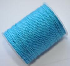 Blaue Gewachst Kordel Drähte, Fäden & Bänder zur Schmuckherstellung