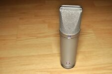Neumann U87 Ai U 87 Mic Microphone w/Original Wood Case & Shockmount SN: 82745