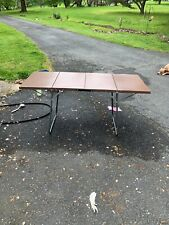 1960's Vintage Folding Camping Picnic Table