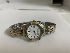 Ladies SEIKO 50M Date at 3  Vintage two-tone 7N82 1431 VERY RARE from 1990s
