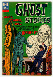 JERRY WEIST ESTATE: GHOST STORIES #15 (VG-) & 16 (VG) (Dell 1966) NR
