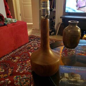 Teak Wood Lamp Vintage Danish