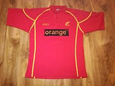 RARE ROMANIA MATCH WORN RUGBY UNION SHIRT/JERSEY/MAILLOT-SUPERB!!