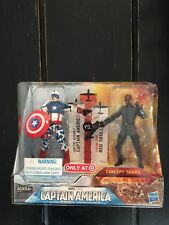 Marvel Captain America Arctic Assault/Red Skull Cosmic Fire Concept Target Excl.