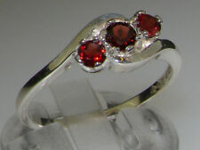 Unbranded Natural Round White Gold Fine Gemstone Rings
