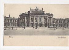 Wien Burgtheater Austria Vintage U/B Postcard 260a
