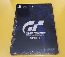 Gran Turismo Sport Steelbook Nuova Sigillata NO GIOCO PS4 XBOX ONE