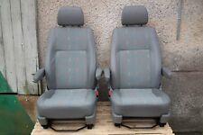 Passenger Driver Seats Inka Vinyl VW T5 Armrests