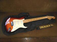 Fender Starcaster Sunburst Finish Maple Neck Strat w/Gigbag & Strap