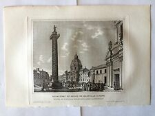 GRAVURE ASSASSINAT HUGOU DE BASSVILLE A ROME 1882 DESFONTAINES MASSON TBE