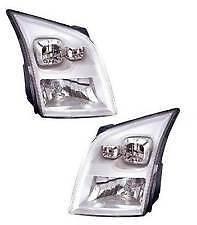 Ford Transit MK7 2006-2014 Chrome Front Headlight Headlamp Pair Left & Right