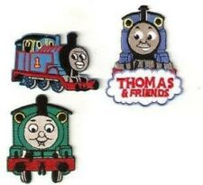 (3) THOMAS THE TRAIN EMBROIDERED PATCHES~SEW/IRON ON~USA SELLER~BRAND NEW