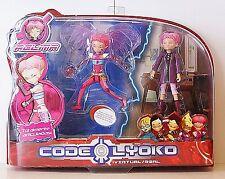 CODE LYOKO -  AELITA real + virtual - Set of 2 Figures AELITA,  New in box.