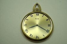 PIAGET POCKET WATCH 18K THIN DESIGN DATES 1960'S THIN EXCELLENT DESIGN BUY NOW!!