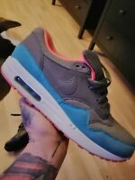 Nike Air Max 1 Gr. 44,5  grey/rot/blue *Top-Zustand*