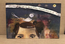 Kelly Rae Roberts 8 x 12 Inspirational Wall Art believer her heart's truth