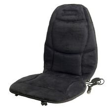 Wagan Soft Velour 12V Heated Seat Cushion Ultra Plush W/ Temperature Control
