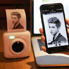 Mini Pocket Instant Photo Printer Wireless Bluetooth 4.0 Thermal Sensitive Print