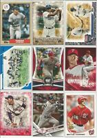 2017 Topps Update Series Rainbow Gold SP Inserts Singles Pick Your Card lot Set